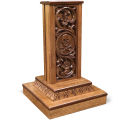 CRUSIFIX STAND (Wood Carved)